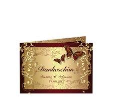 """Danksagungskarte Hochzeit """"Toulouse"""""""