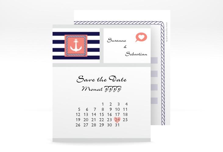 "Save the Date-Kalenderblatt ""Girona"" Kalenderblatt-Karte"