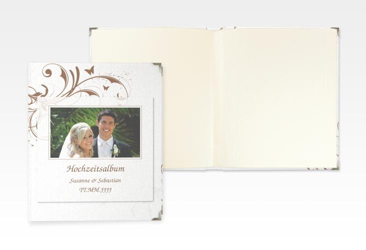 """Hochzeitsalbum """"Palma"""" 21 x 25 cm braun"""