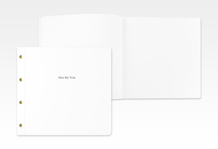 Blanko Gästebuch Edition Buchschraube