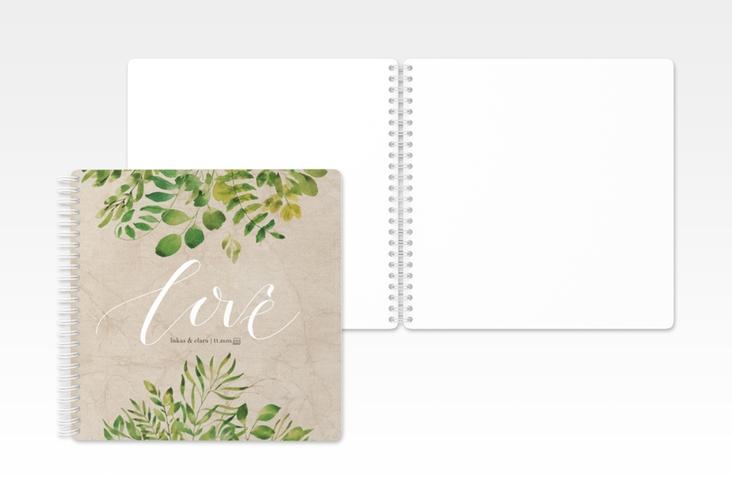 "Gästebuch Hochzeit ""Botany"" Ringbindung"