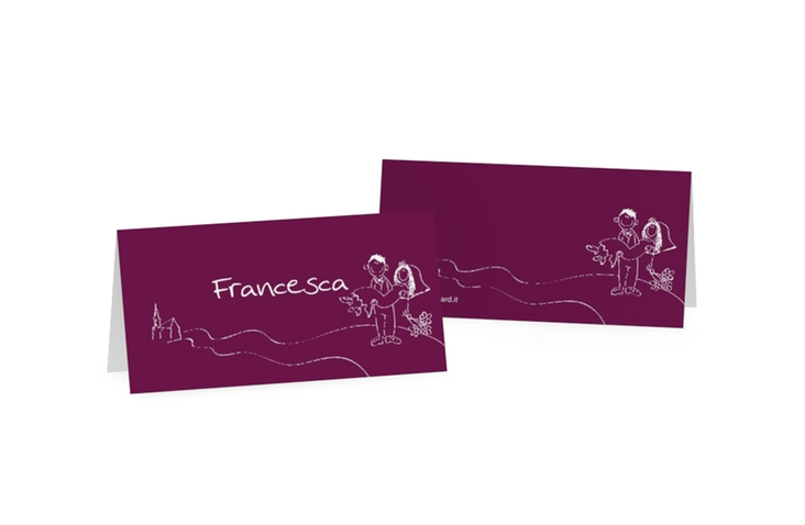Segnaposti matrimonio collezione Pisa Tischkarten