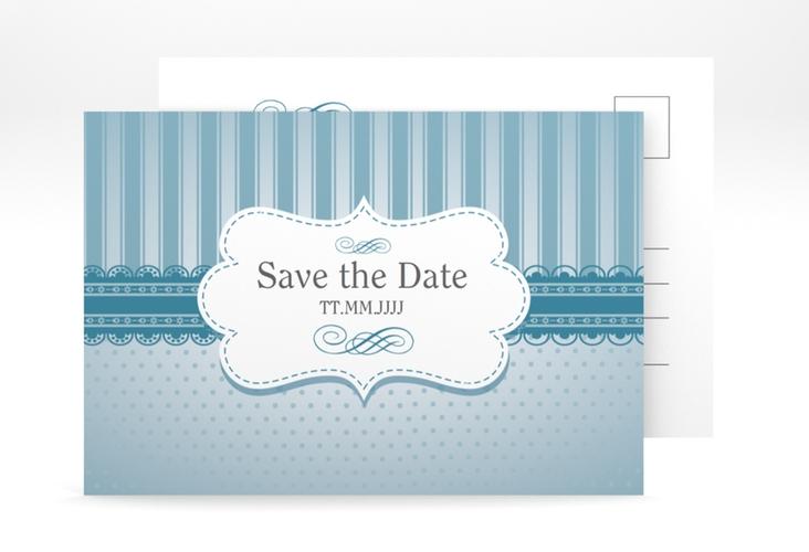 """Save the Date-Postkarte """"Heinrich/Henriette"""" A6 Postkarte"""