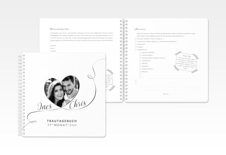 """Trautagebuch Hochzeit """"Dolce"""" Trautagebuch Hochzeit weiss"""