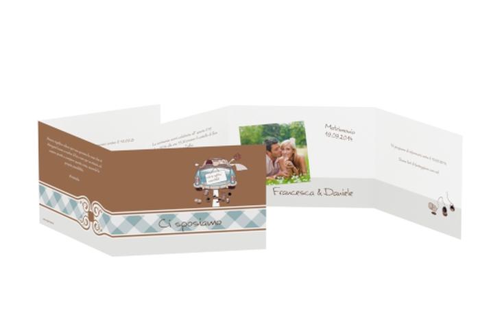 Inviti matrimonio collezione Stoccarda A6 doppelt geklappt