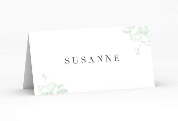 """Tischkarte Hochzeit """"Magnificent"""" Tischkarten mint"""