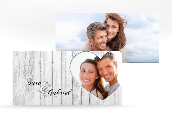 """Hochzeitseinladung """"Herz"""" Einsteckkarte"""