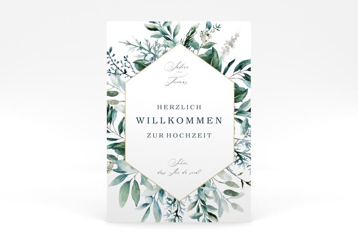 """Willkommensschild Poster """"Lumiere"""" 50 x 70 cm Poster"""