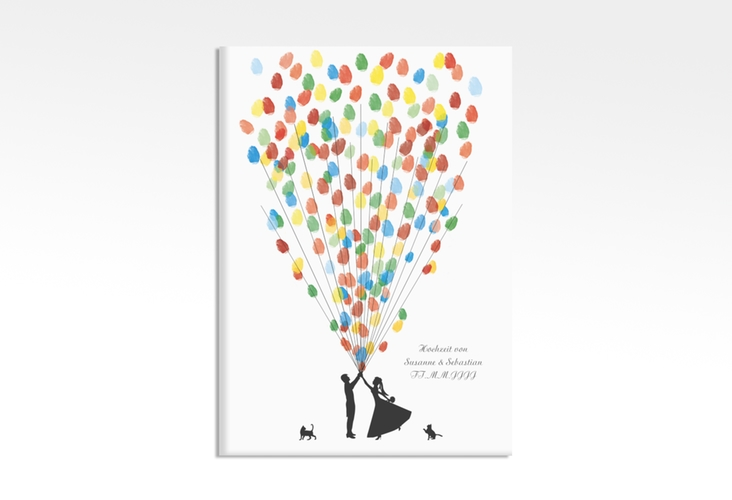 Wedding Tree – Ballons Beatrice Cat bis zu 200 Gäste 50x70 cm 50 x 70 cm