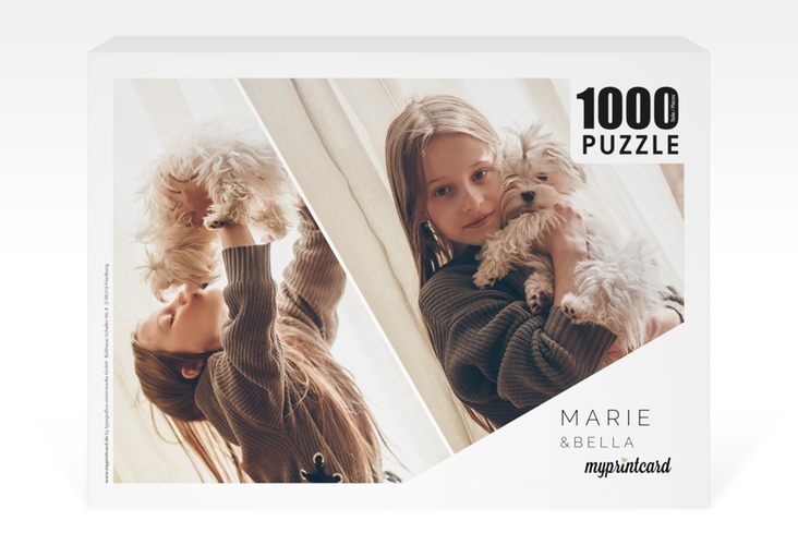 "Fotopuzzle 1000 Teile ""Parallele"" 1000 Teile weiss"