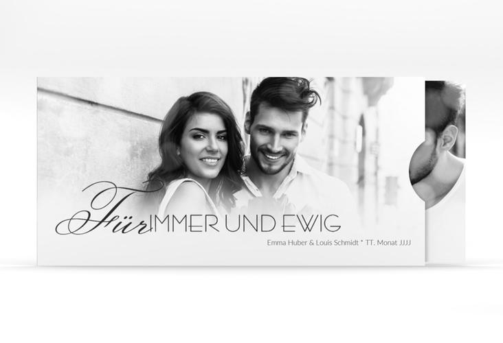"""Hochzeitseinladung """"Bokeh"""" Einsteckkarte"""