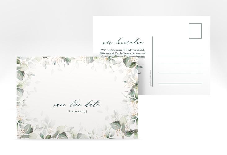 "Save the Date-Postkarte ""Poesia"" A6 Postkarte"