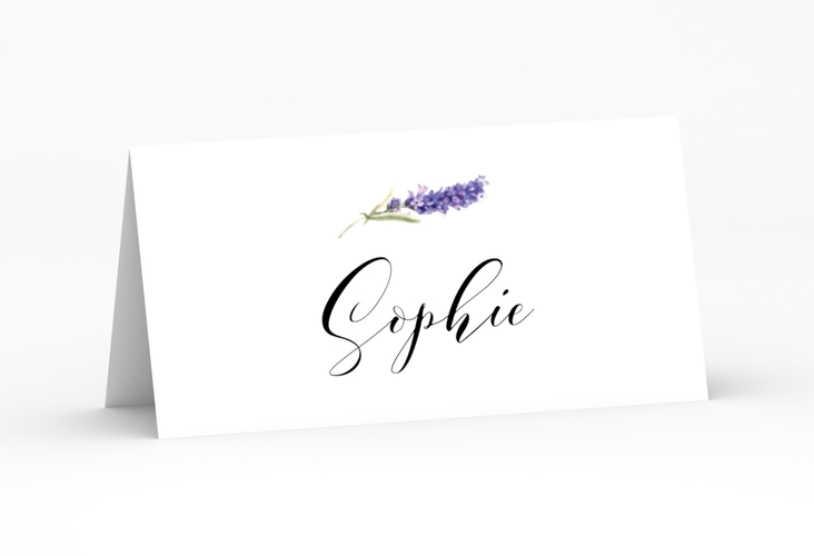 """Tischkarte Hochzeit """"Lavendel"""" Tischkarten"""