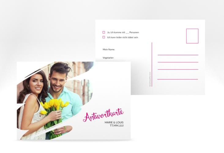 "Antwortkarte Hochzeit ""Felice"" A6 Postkarte"