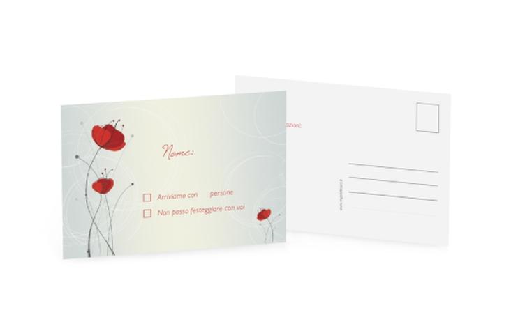 Biglietti risposta matrimonio collezione Madrid A6 Postkarte