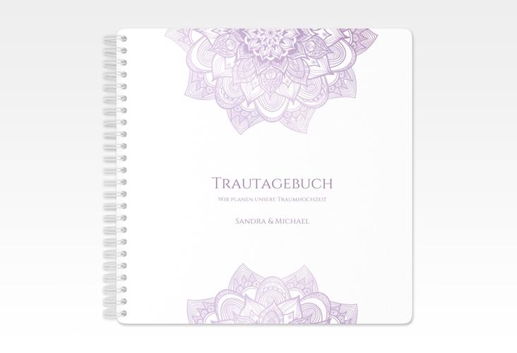 """Trautagebuch Hochzeit """"Delight"""" Trautagebuch Hochzeit flieder"""