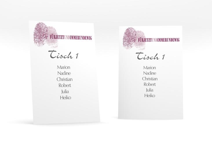 """Tischaufsteller Hochzeit """"Messina"""" Tischaufsteller"""