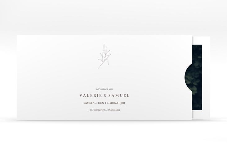 """Hochzeitseinladung """"Ivy"""" Einsteckkarte"""