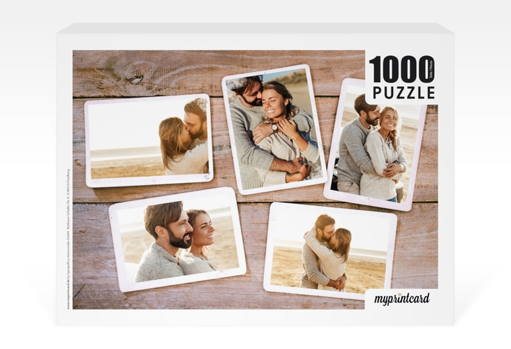 "Fotopuzzle 1000 Teile ""Memoria"" 1000 Teile weiss"