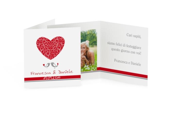 Biglietti Bomboniera matrimonio collezione Mantova Geschenkanhänger 10er Set