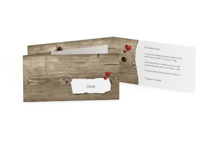 Inviti matrimonio collezione Augusta DIN lang Klappkarte