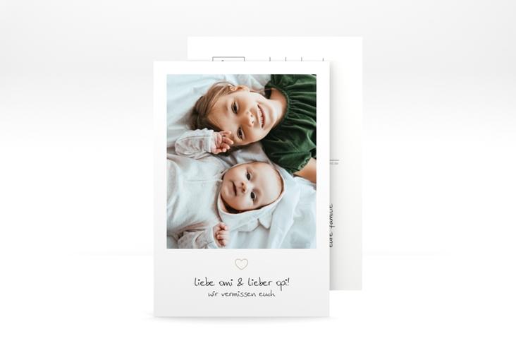 """Grußkarte """"Vermissung"""" A6 Postkarte"""