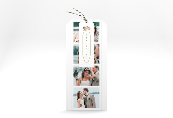 """Hochzeitseinladung """"Prachtvoll"""" Kartentrio"""