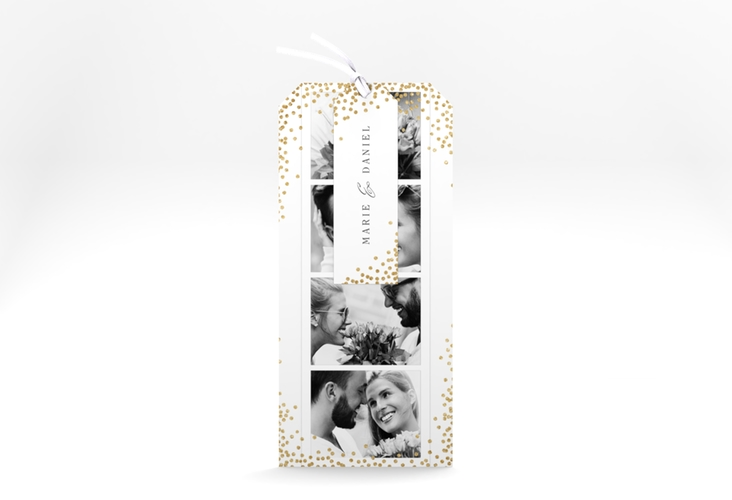 """Hochzeitseinladung """"Glitter"""" Kartentrio"""