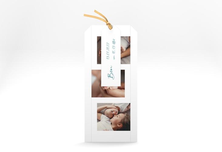 "Geburtskarte ""Lebenswunder"" Kartentrio blau"
