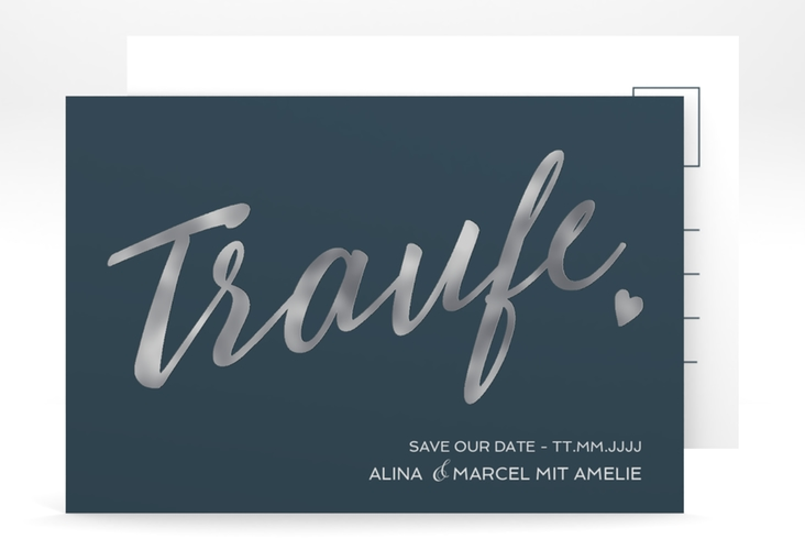 "Save the Date-Postkarte ""Traufe"" A6 Postkarte"