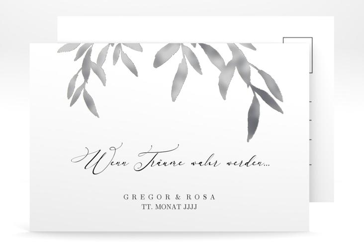 """Save the Date-Postkarte """"Demure"""" A6 Postkarte"""