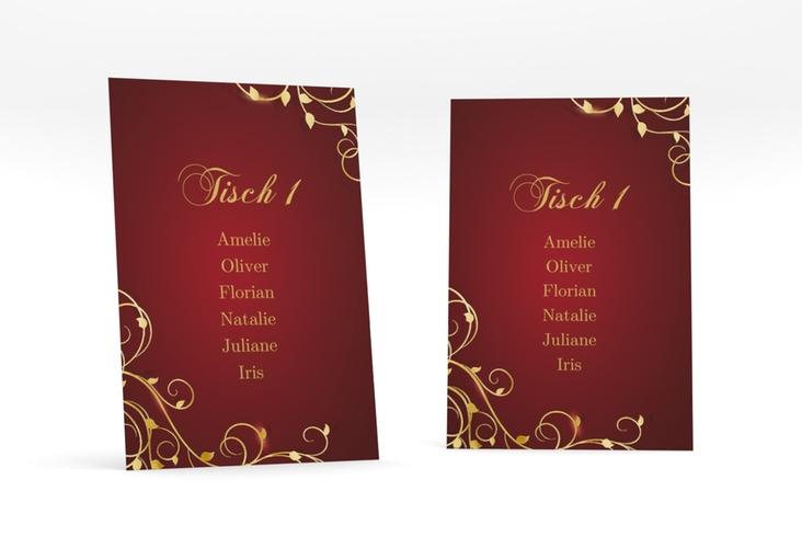 """Tischaufsteller Hochzeit """"Eternity"""" Tischaufsteller"""