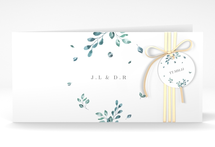 "Hochzeitseinladung ""Precioso"" DIN lang Klappkarte"