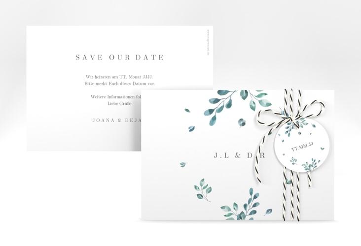 """Save the Date-Karte """"Precioso"""" A6 quer"""