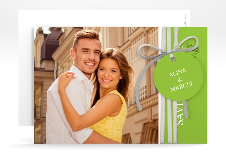 "Save the Date-Karte ""Classic"" A6 quer"