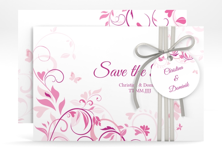 "Save the Date-Karte ""Lilly"" A6 quer"