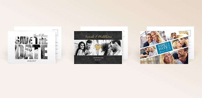 Save-the-Date-Karten von myprintcard