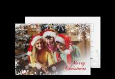 Weihnachtskarte von myprintcard