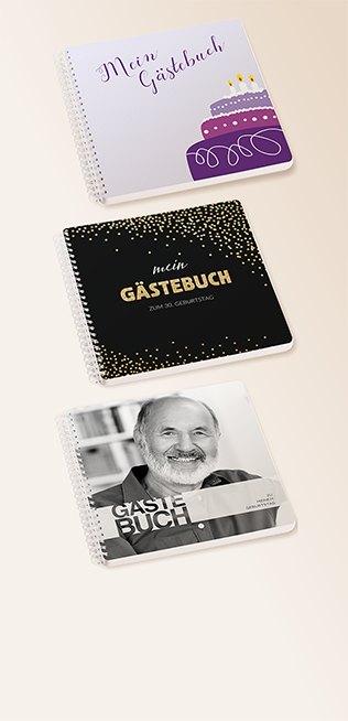 Geburtstags-Gästebücher von myprintcard