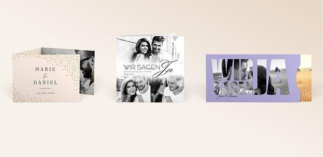 Hochzeitseinladungen von myprintcard