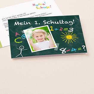 Einschulungskarten von myprintcard