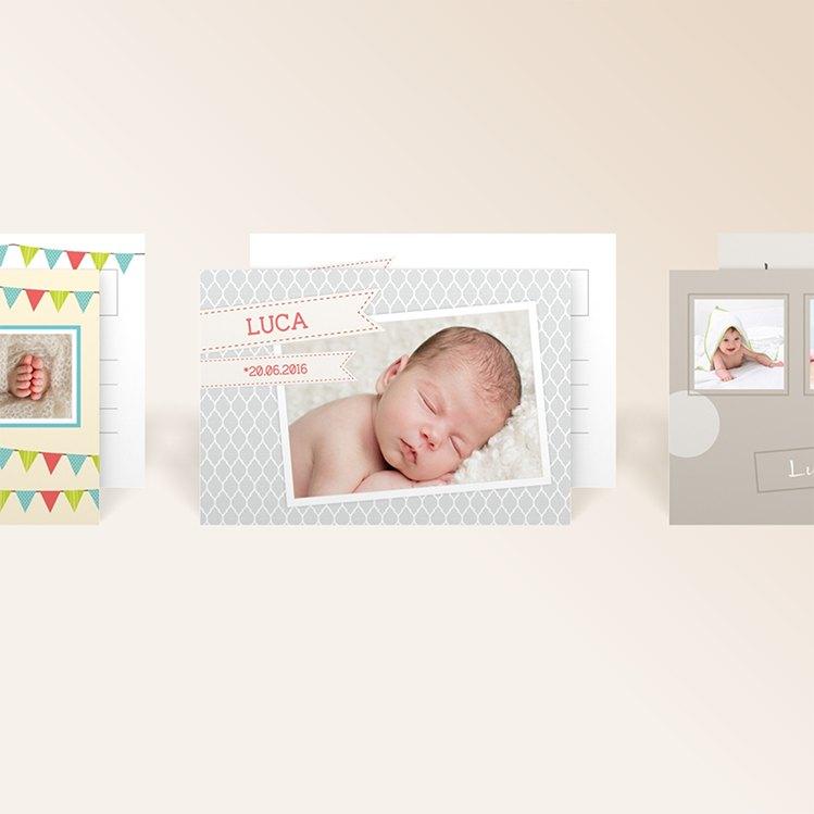 Babykarten von myprintcard