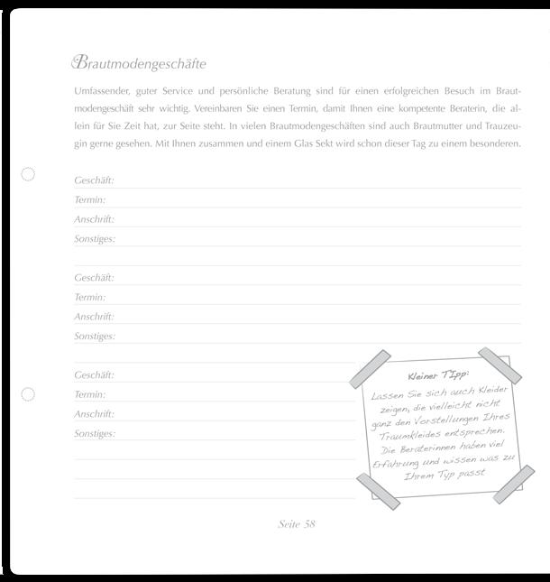 Trautagebuch Seite 3