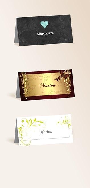 Tischkarten von myprintcard