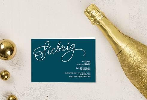 Einladung Zum 70 Geburtstag Gratis Einladungskarten Texte