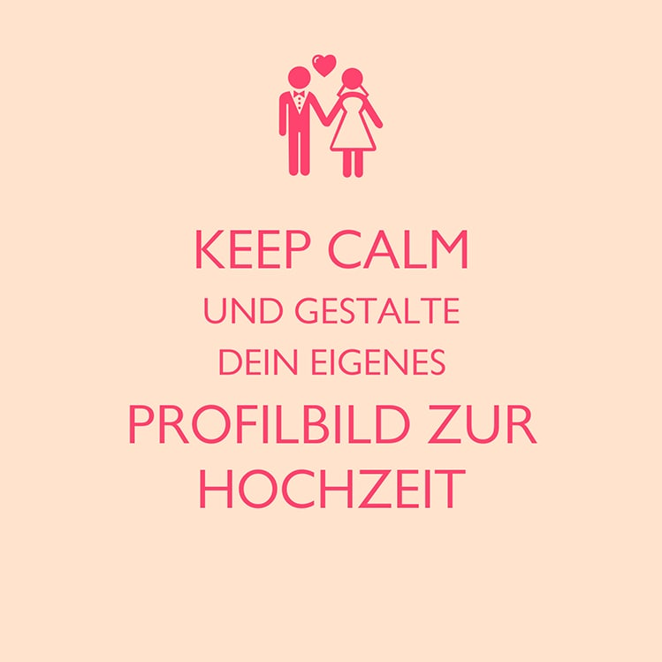 Keep Calm Widget von myprintcard
