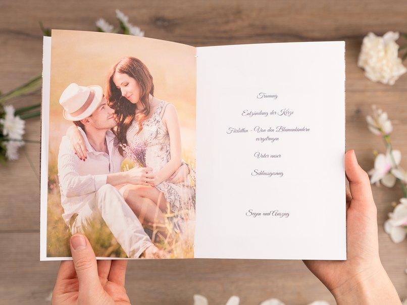 Kirchenheft Zur Hochzeit Selber Machen 3 Aussergewohnliche Ideen