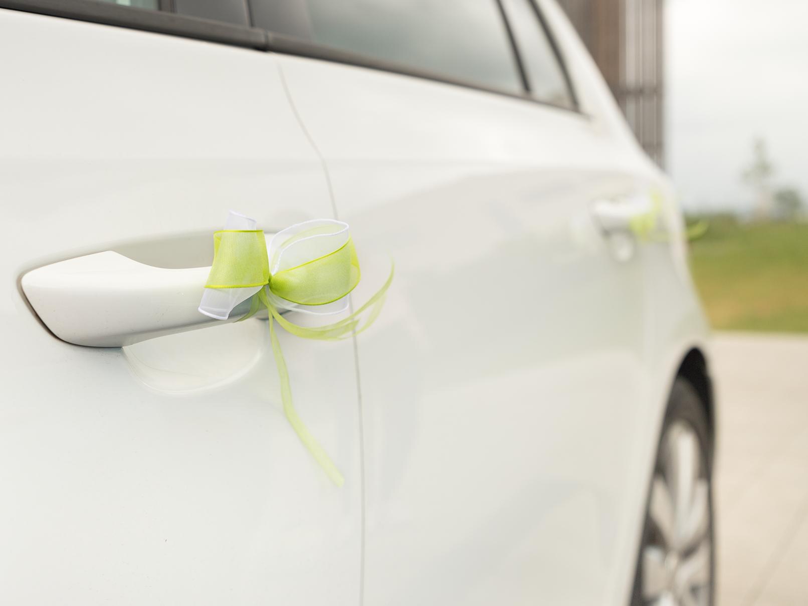 Machen selber für antennenschleifen hochzeit Schöne Autoschleifen