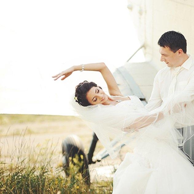 Hochzeit auf Wolke sieben