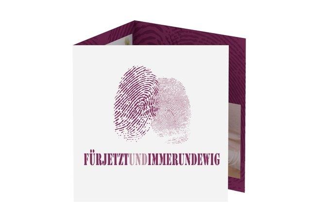 Danksagungskarte Hochzeit Kollektion Messina